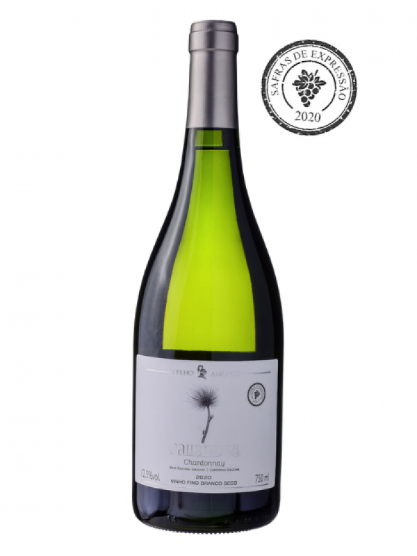 Caliandra Chardonnay Safra 2020 - Vinho Branco Fino Seco